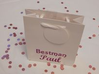 Bestman Personalised Gift Bag